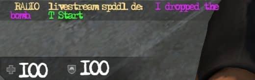 Как заменить шрифт в CS:GO?