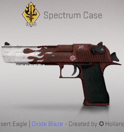Desert Eagle | Oxide Blaze