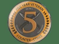 пятилетний ветеран