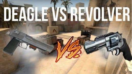 desert eagle vs revolver