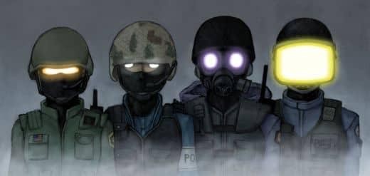 Рисунок спецназа в кс го №1