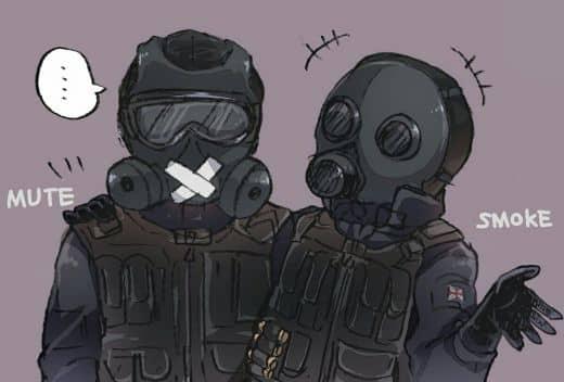Рисунок спецназа в кс го №3