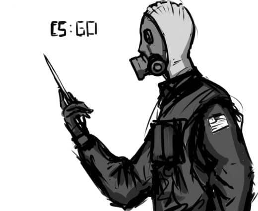 Рисунок спецназа в кс го №4