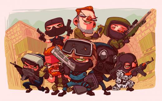 рисунок террористов #1