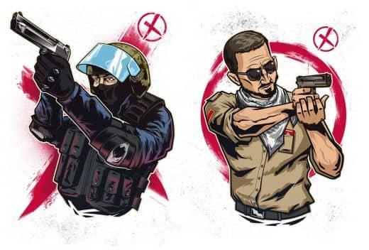 рисунок террористов #2
