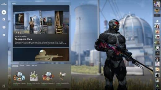 Замена моделей оружия и игроков в кс го. Panorama UI