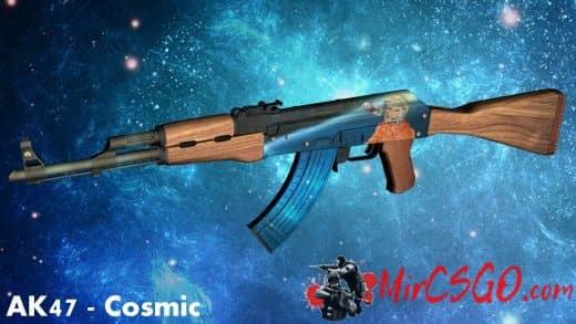 AK 47 - Cosmic V.1 Модель кс го