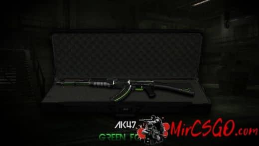 Ak-47 - Green Force Модель кс го