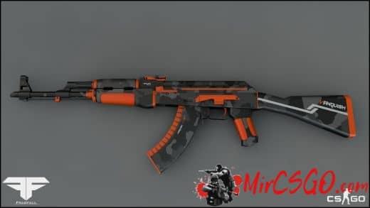 AK-47 Vanquish Модель кс го