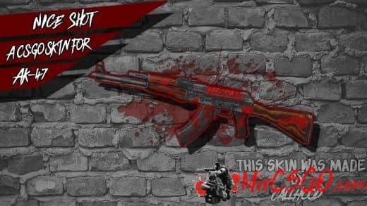 AK47-Nice Shot Модель кс го