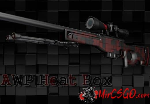 AWP Heat Box Модель кс го