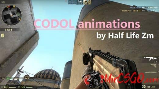 CODOL AK117 animations Модель кс го