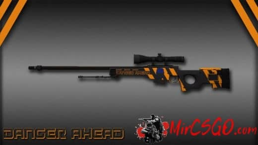 Danger Ahead - AWP Модель кс го