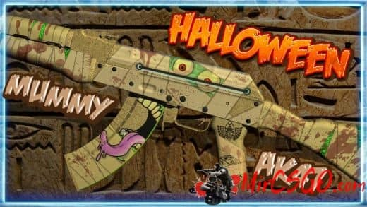 Halloween-Mummy AK47 Модель кс го