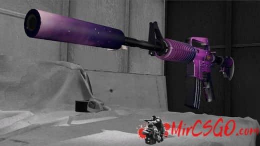 M4A1-S | Nebula Модель кс го