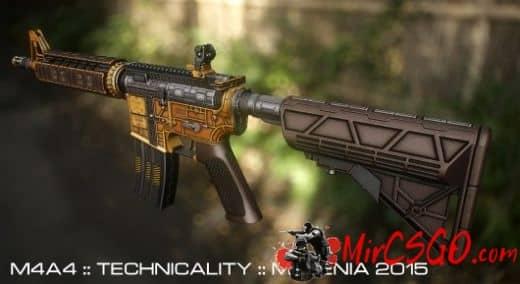 M4A4-Technicality Модель кс го