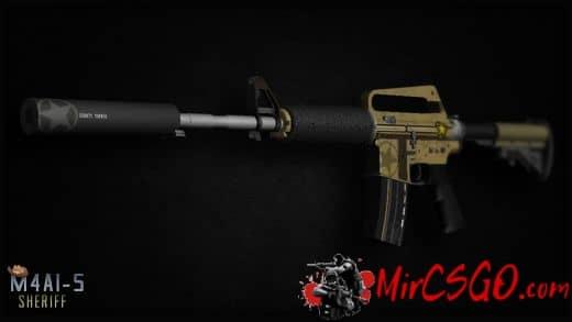 M4AS-1 - Sheriff Модель кс го