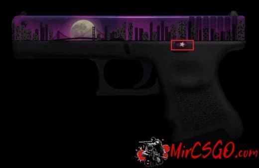 Glock-18 Лунная ночь скриншот 1