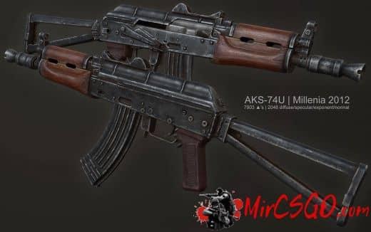 Millenia's AKS-74U Модель кс го