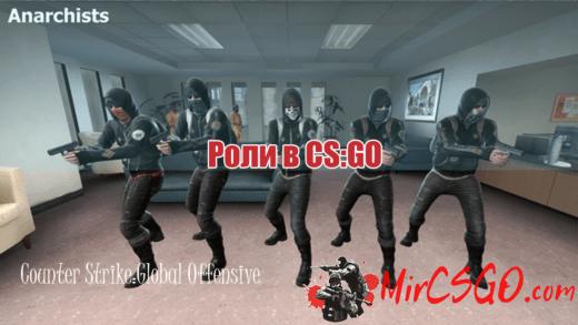 Роли в CS GO