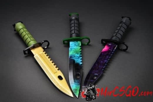 штык нож м9 кс го скины