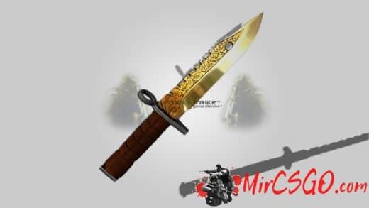 Штык нож м9 кс го скриншот 1
