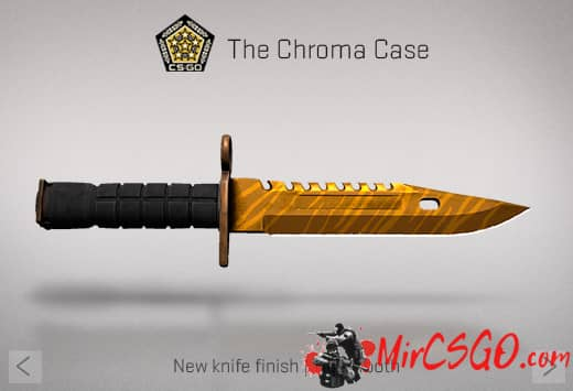 Штык нож в кс го тигр