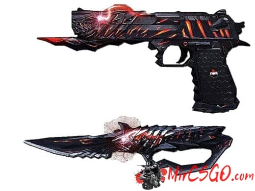 Desert Eagle Born Beast модель оружия кс 1.6