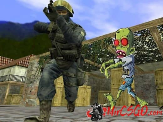 Zombie Survival Mode мод для кс 1.6