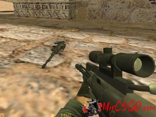 AS50 модель оружия кс 1.6