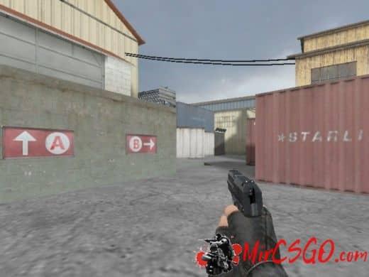 Mr. Brightside's USP Compac модель оружия кс 1.6