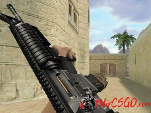 Colt M4A1 модель оружия кс 1.6