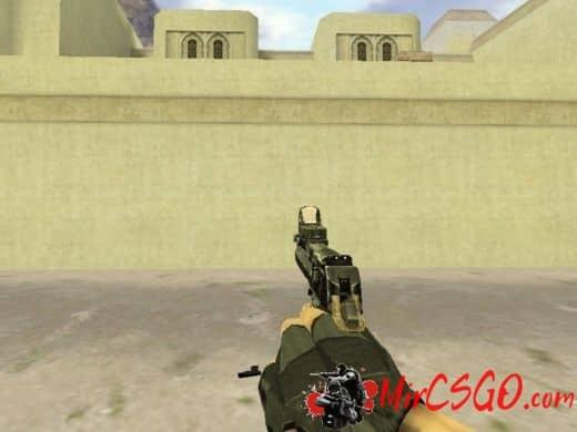 RockHanded модель оружия кс 1.6