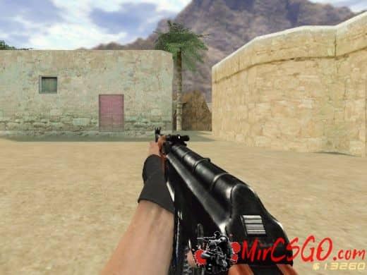AK-47 модель оружия кс 1.6
