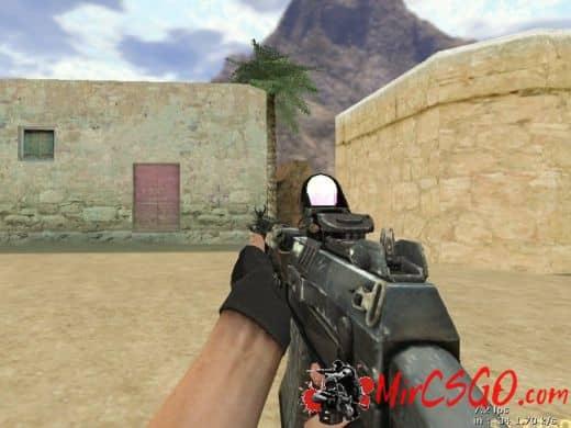 AK-47 Homefront T3AK модель оружия кс 1.6