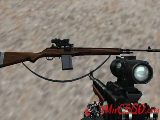 M14 модель оружия кс 1.6