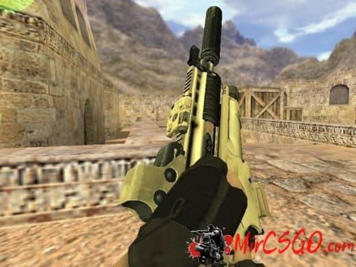 FN Scar-L модель оружия кс 1.6