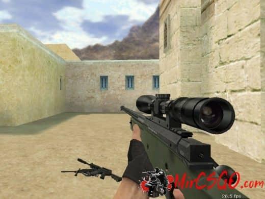 Default HD Weapons модель оружия кс 1.6