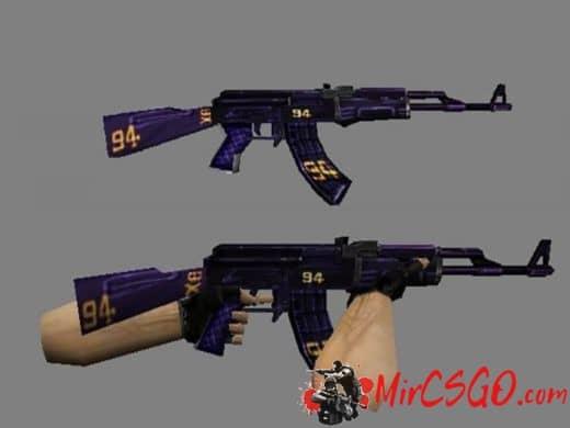 New AK-47 модель оружия кс 1.6