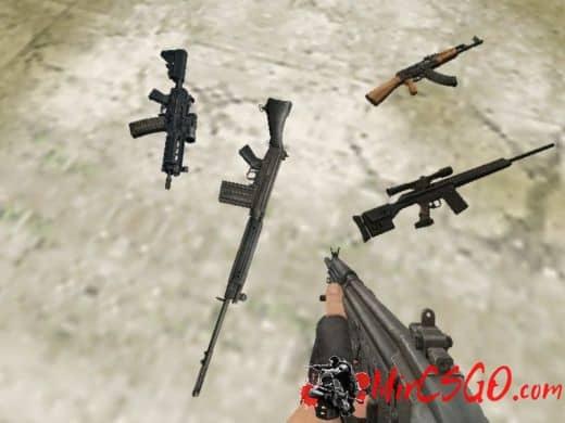 SlayeR Kollection Package модель оружия кс 1.6