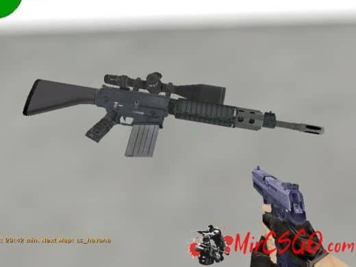 SR-25 for g3sg1 модель оружия кс 1.6