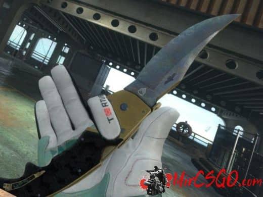Falchion Knife - Combat Tone модель оружия кс го