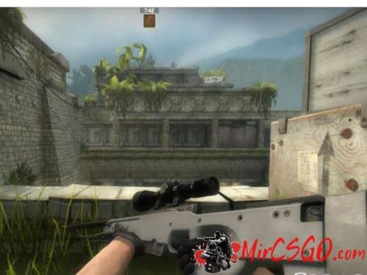 Gunmetal Awp Re-texture модель оружия кс го