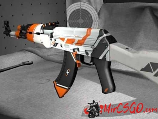 AK47 - ASIIMOV модель оружия кс го