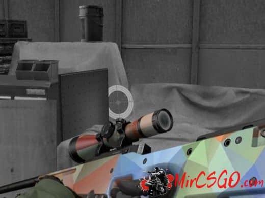 AWP - Geometric Pattern модель оружия кс го