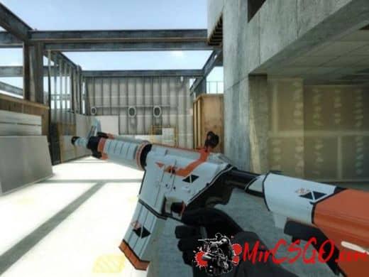 M4A4 ASIIMOV модель оружия кс го