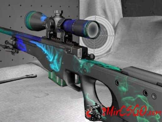 AWP - Smoke модель оружия кс го