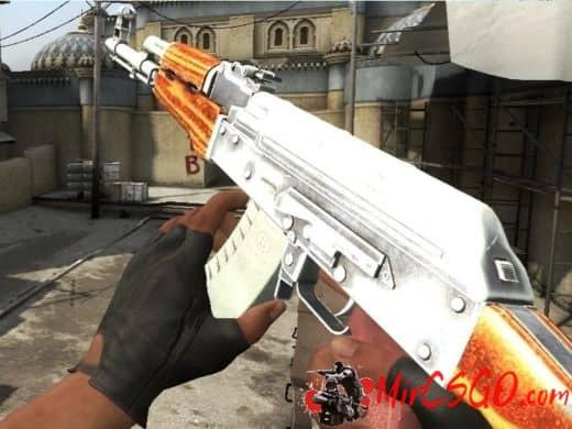 AK47 - Simple Chrome оружия кс го