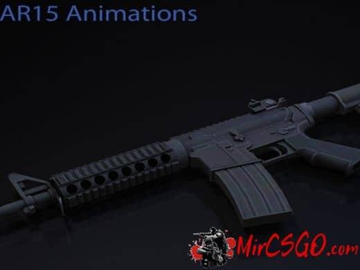 Arby26 AR15 On 7game's Anims оружия кс го
