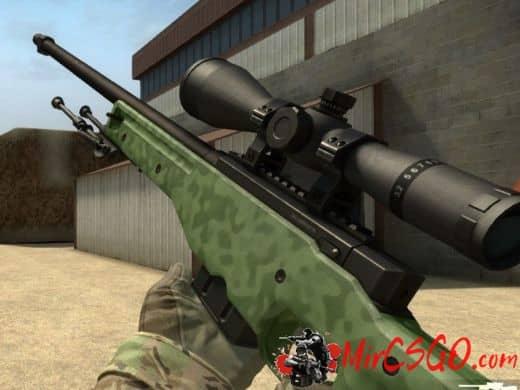 AWP — Green Camo оружия кс го